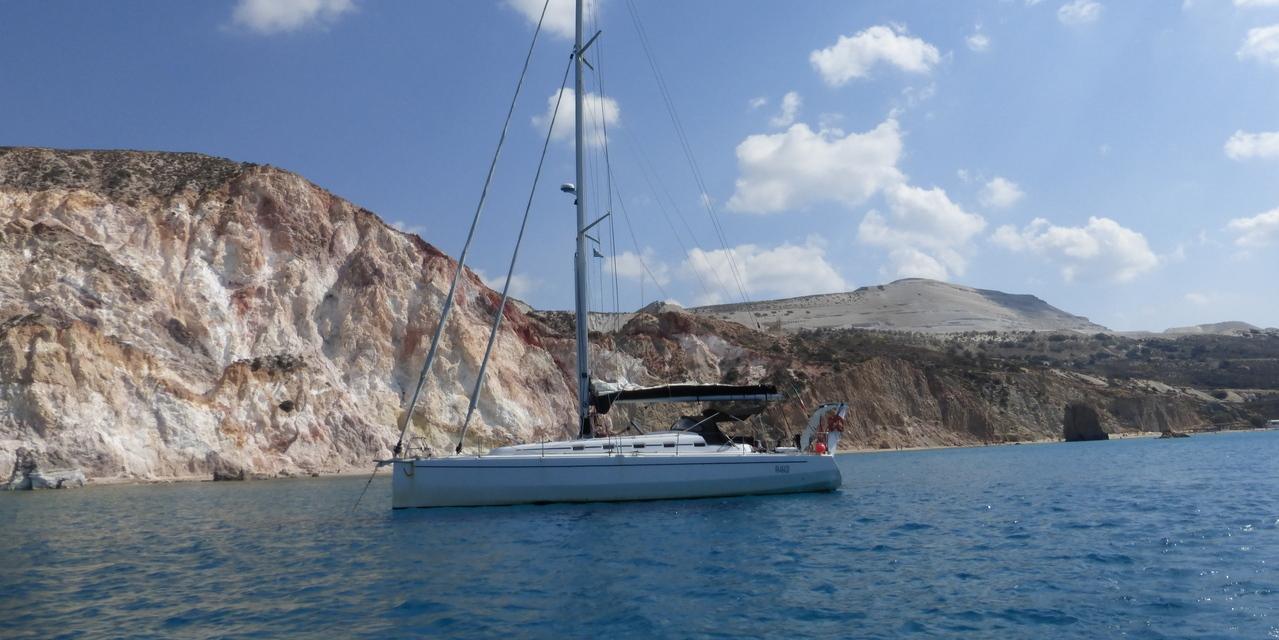 Crociera in barca a vela alle Cicladi Occidentali