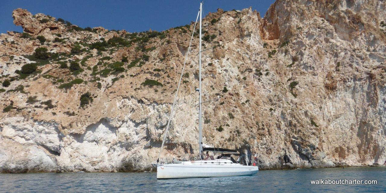Crociera alla Cicladi in barca vela