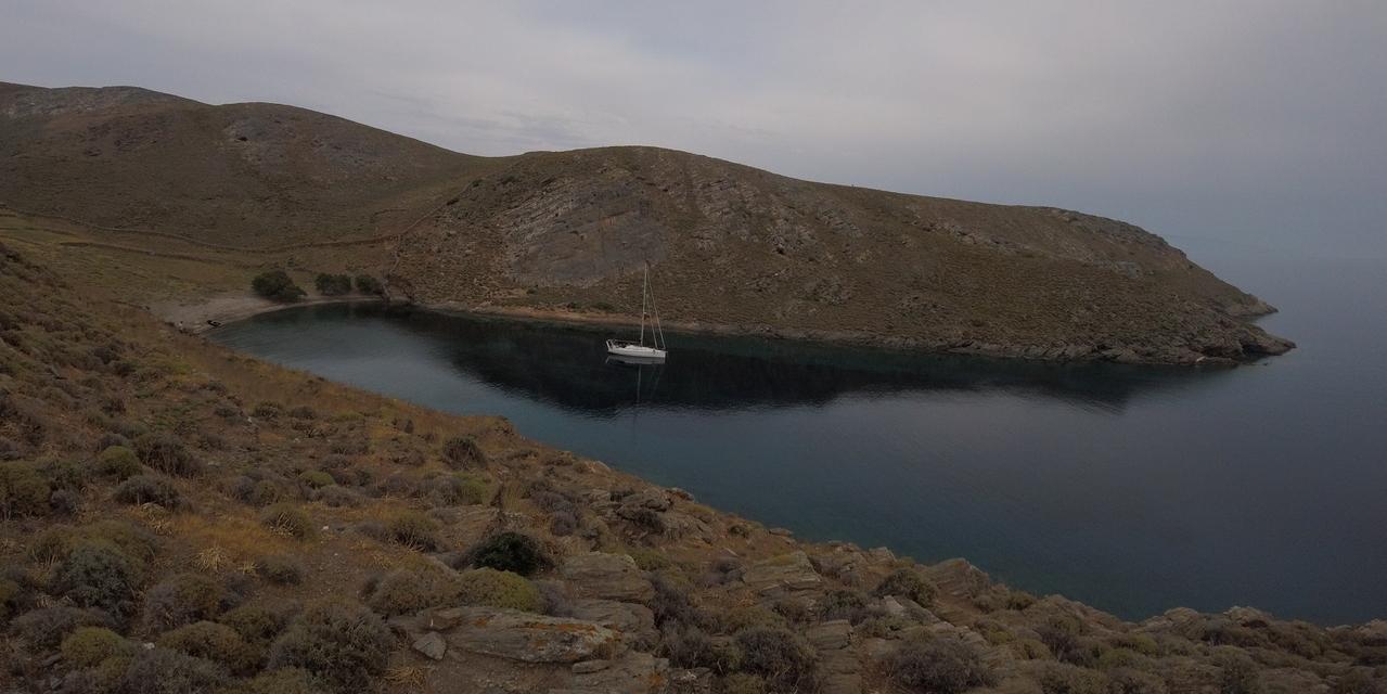 Crociera in barca vela alle Cicladi Settentrionali