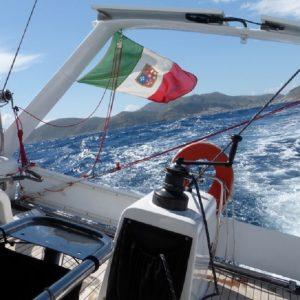 Crociera veloce barca vela di bolina