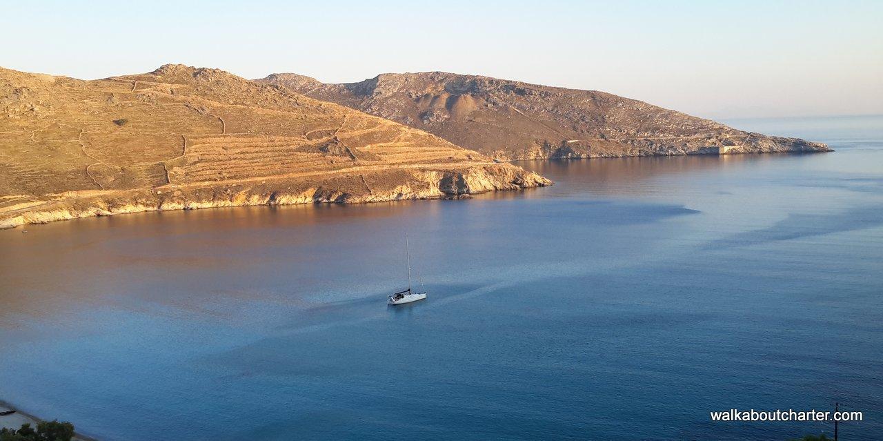 Barca vela Serifos Cicladi Grecia
