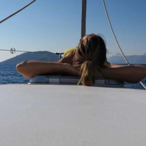 Relax in una vacanza in barca a vela in Grecia