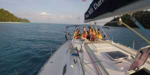 Charter in barca a vela in Thailandia