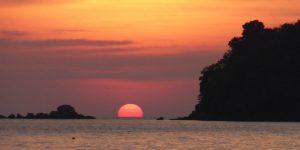 Tramonto a PhiPhi island
