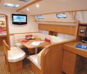 Interni barca crociera thailandia