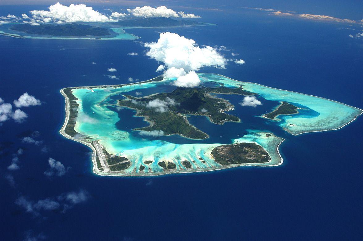 Bora Bora in barca vela
