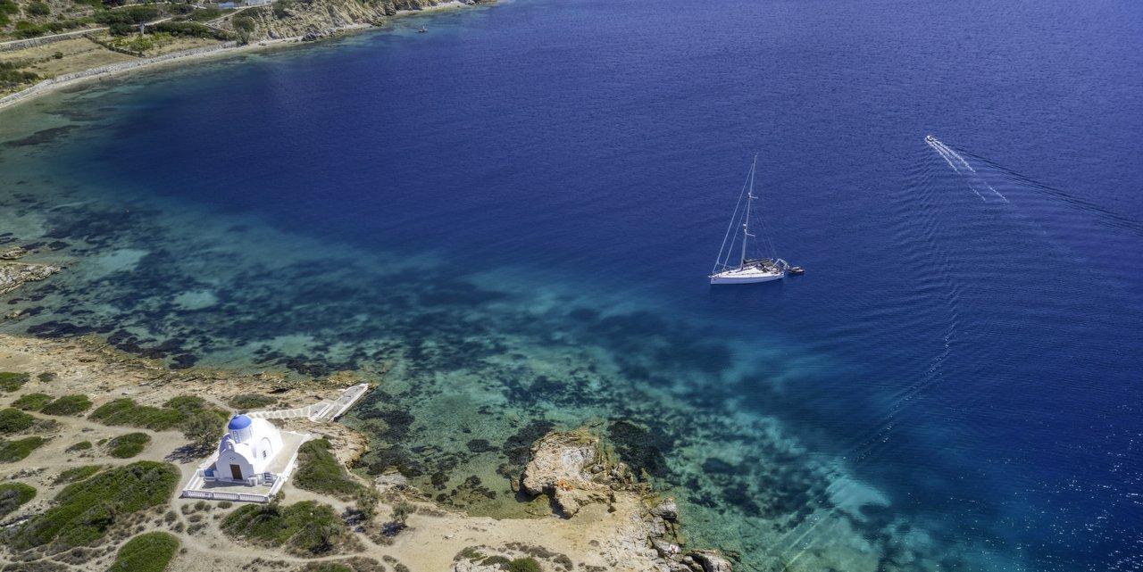 Vacanza in barca vela Amorgos Grecia