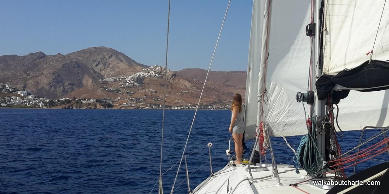 vacanza in barca a vela Serifos